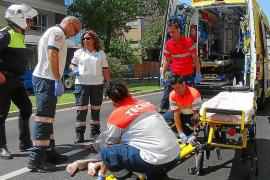 Muere el hombre que fue atropellado en la calle General Riera de Palma