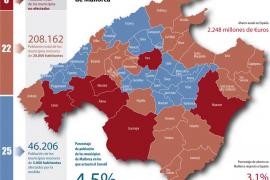 El Consell deberá gestionar las competencias de los 25  municipios con menos de 5.000 habitantes