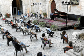 L'Almudaina vibra de nuevo con la música