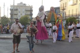 Manacor recuperó a su patrón, Sant Jaume