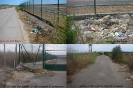 Alrededores del aeropuerto de Son Sant Joan