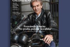 Criticas y aplausos al posado motero de Fernando Simón