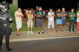 La juez dicta orden de alejamiento para una de las bandas de trileros de Platja de Palma
