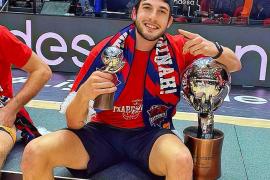 Sergi García: «Ganar la ACB con Baskonia es un subidón inexplicable»