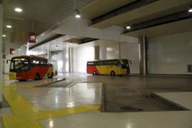 Incidente con los autobuses de la Intermodal de Palma
