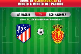 Así ha sido el Atlético de Madrid-Real Mallorca