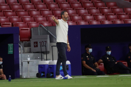 Vicente Moreno: «Las cuentas son intentar ganar los 12 puntos»
