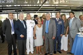 La Armada celebra la Virgen del Carmen en la base naval de Porto Pí