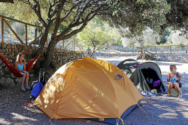 Las zonas de acampada del Ibanat se estrenan en la 'nueva normalidad'