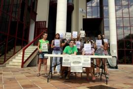 El grupo de apoyo a los encausados por la 'ocupación' de Educación exige su absolución