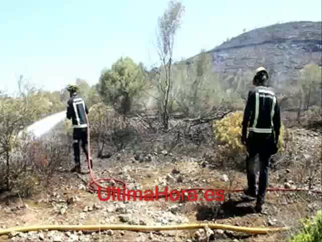 La semana comienza con nuevos incendios en Manacor y Sant Llorenç, ya controlados