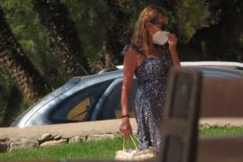 Ana Obregón se refugia en Mallorca tras la muerte de su hijo