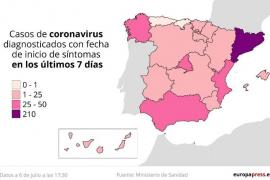 Mapa de los rebrotes 15 autonomías afectadas y parte de Lleida y Lugo vuelven al confinamiento