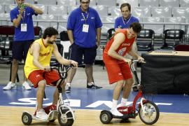 Rudy Fernández: «Llegar  a la final es un camino muy largo»