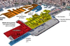 Un concurso público adjudicará la zona más codiciada del Moll Vell de Palma