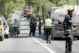 La Guardia Civil detiene a un menor e imputa a un joven por seis incendios en Algaida