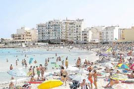 La ocupación hotelera en el núcleo de s'Illot supera el 90 por ciento en julio