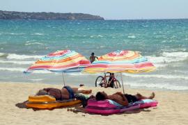 Alerta amarilla este jueves en Palma y el sur de Mallorca por altas temperaturas