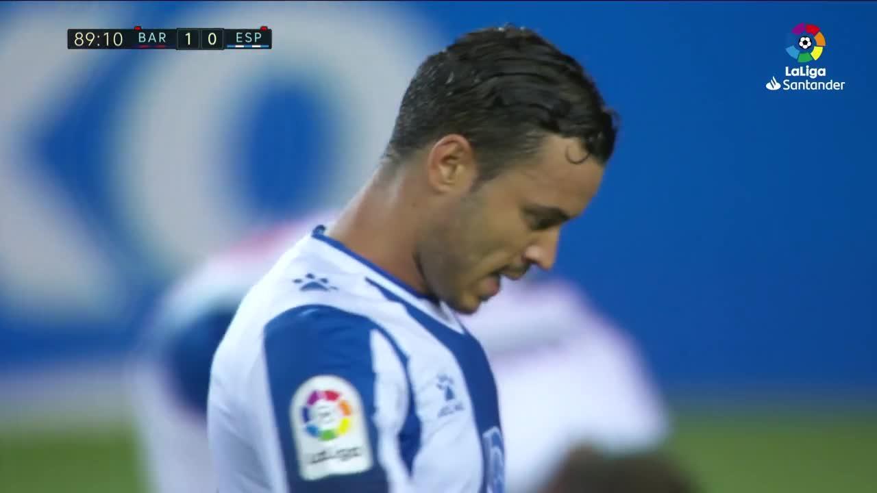 El Barça certifica el descenso del Espanyol