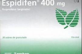 Sanidad retira un lote de Espidifen 400 mg