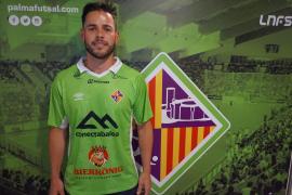 Marlon ya luce la camiseta del Palma Futsal