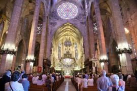 La Catedral de Mallorca acogerá una misa funeral por las víctimas del COVID-19 en Baleares