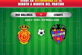 Así ha sido el Real Mallorca-Levante