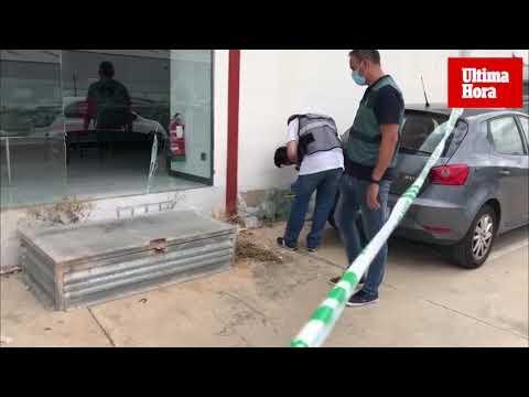 Intentan volar con explosivos la caja fuerte del cajero de un banco en Marratxí