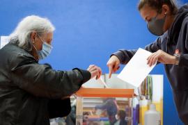 La participación en Euskadi cae 8,36 puntos