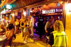 Los inspectores levantan hasta 24 actas en Baleares por aglomeraciones, botellones e incumplir las normas