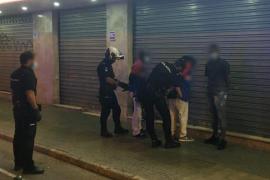 Tres detenidos y varios heridos en una pelea con bates de béisbol en Pere Garau