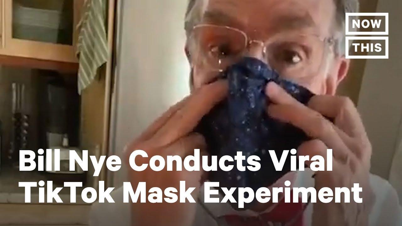 Bill Nye explica la importancia de usar mascarilla