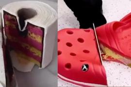 Los pasteles hiperrealistas inundan las redes y provocan un aluvión de memes