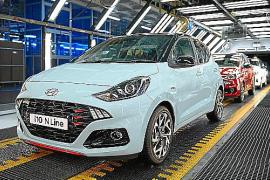 Hyundai inicia la producción del nuevo i10 N Line en Turquía