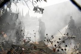 Una mujer sufre un ataque de ansiedad en Manacor a causa de un incendio