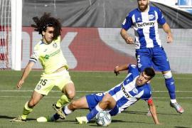 El empate entre el Alavés y el Getafe mantiene con vida al Mallorca