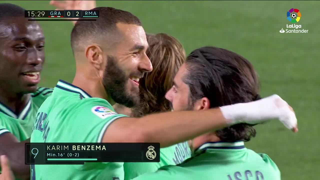 El Real Madrid vence con sufrimiento al Granada