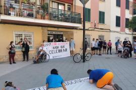 Paralizado el desahucio de una mujer y sus seis hijos en Palma