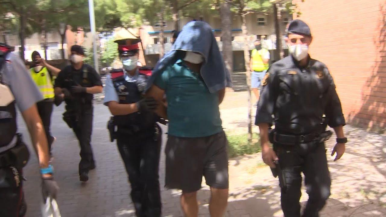 Detenidos los dos principales objetivos de la operación antiterrorista de Barcelona