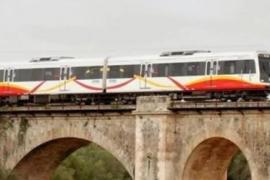 Los trenes diesel de Mallorca se van a Kenia