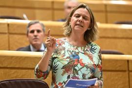 Maria Salom y Pablo Iglesias se enzarzan en el Senado