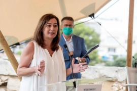 Armengol: «La peor imagen para Baleares no es el uso de la mascarilla sino un rebrote comunitario»