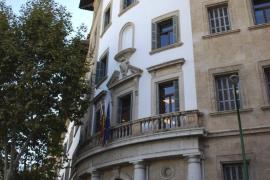 Alarma en los juzgados de Palma por un paquete sospechoso que contenía una gaviota muerta