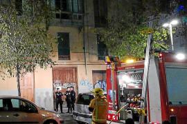 Piden casi cinco años de cárcel por incendiar un edificio en obras en Palma