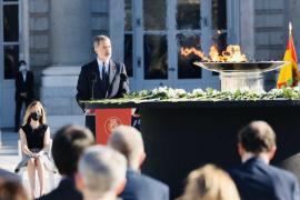 El Rey pide superar la crisis del Covid-19 con «respeto» y «entendimiento»