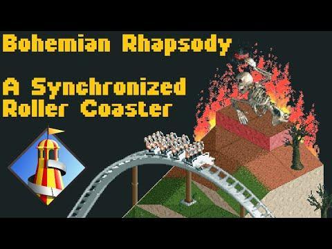 Un 'youtuber' diseña una montaña rusa digital que se mueve al ritmo de 'Bohemian Rhapsody'