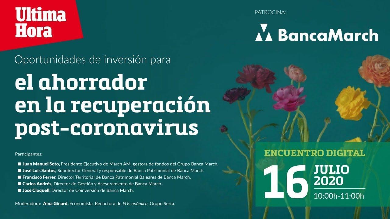 Banca March ofrece nuevas fórmulas de inversión para todos los ahorradores