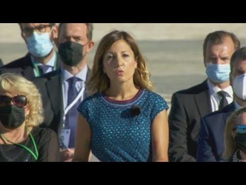 El impactante discurso de la enfermera Aroa López en el homenaje de Estado