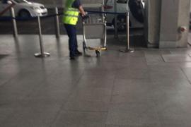 Huelga del servicio de carros del aeropuerto de Palma, que no se desinfectan