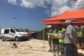 Formentera crea un equipo de vigilancia con dron para emergencias